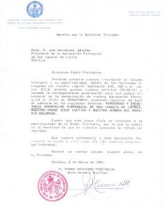 carta trinitaria